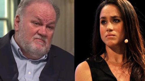 "Thomas Markle filtra video ""privado"" de su hija Meghan"