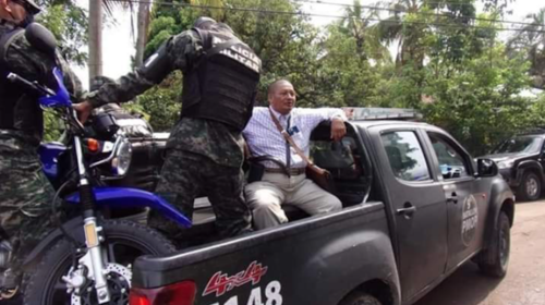 Capturan a pastor Santiago Zúñiga por violar toque de queda