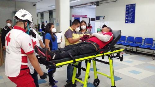 San Juan de Dios reporta que 11 personas fueron ingresadas