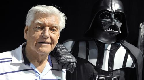 "Muere Dave Prowse, quien interpretó a Darth Vader en ""Star Wars"""