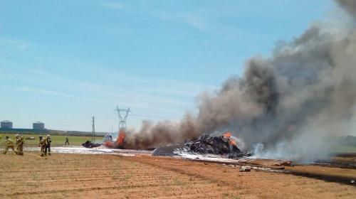 Tres muertos y dos heridos graves en accidente de avión en Sevilla
