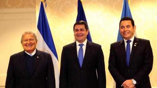 """Morales: Guatemala y EEUU tienen """"interés común"""" en evitar migración"""