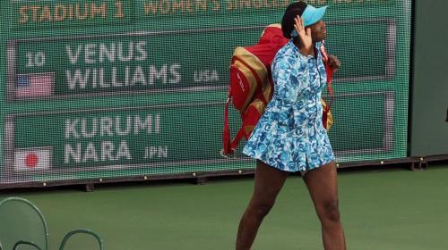 Venus Williams regresa a Indian Wells tras 15 años de ausencia