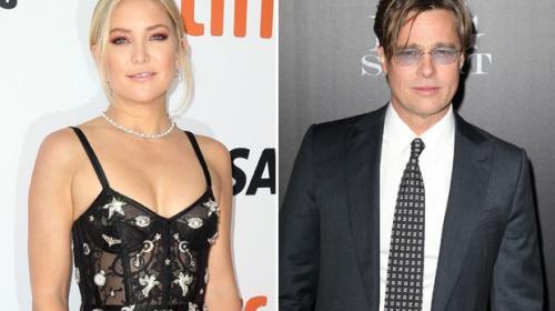 Madre de Kate Hudson confirma el romance de su hija con Brad Pitt