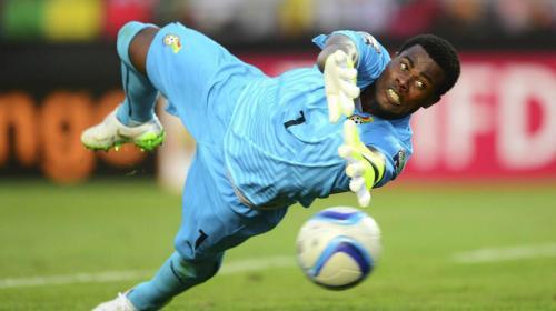 El extraño amuleto del portero de la selección de Ghana