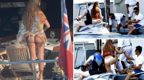 La esposa de Messi y su descuido acaparan la atención de internautas