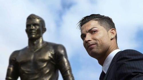 Cristiano Ronaldo ya tiene una estatua en su honor en Madeira