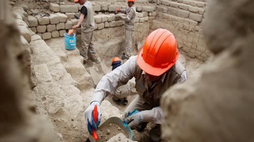 Descubren restos arqueológicos en una antigua ciudad bíblica