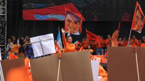 TSE suspende al PP y cancela a Baldetti como secretaria general