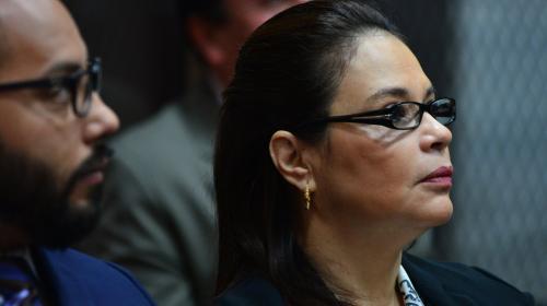La exvicepresidenta Roxana Baldetti es enviada a juicio
