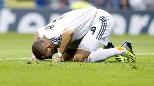 Otro lesionado en el Real Madrid: Benzema con esguince de rodilla