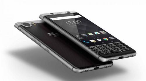 BlackBerry está de vuelta con su dispositivo KeyOne con teclado físico