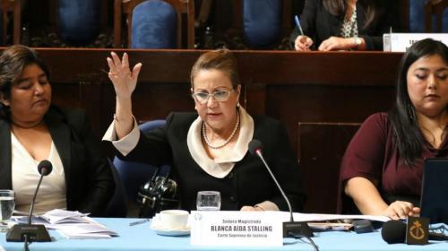 Nombran juez para conocer el caso de Blanca Stalling