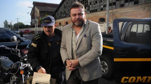 Camargo recluido en hospital, Fisher y Lima enviados a cárcel militar
