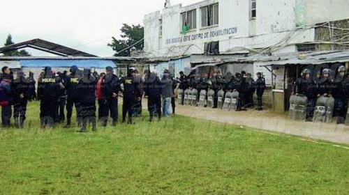 Explosión dentro de cárcel Cantel habría dejado tres heridos