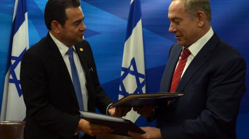 Esto le costó a los guatemaltecos el viaje oficial a Israel