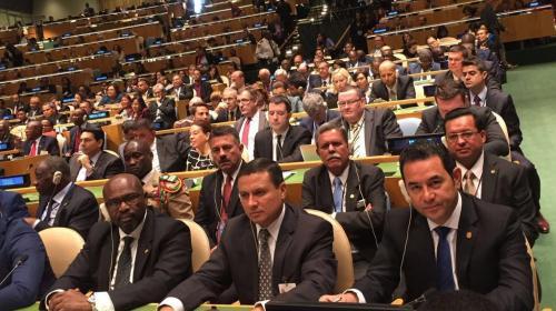 Guatemala firma histórico Acuerdo sobre el Cambio Climático