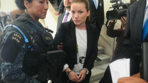 Daniela Beltranena regresa a Mariscal Zavala tras estar hospitalizada