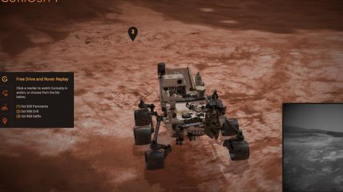 Recorre el planeta Marte con la aplicación de la NASA