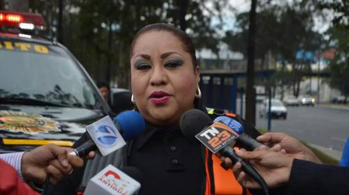 Dalia Santos regresa a las redes a dar el reporte del tráfico