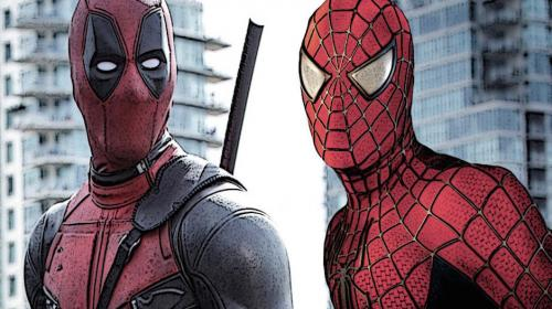 Los memes del beso entre actores de Deadpool y Spiderman