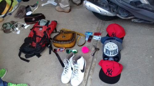 Objetos de turistas son hallados en allanamientos en Jocotenango