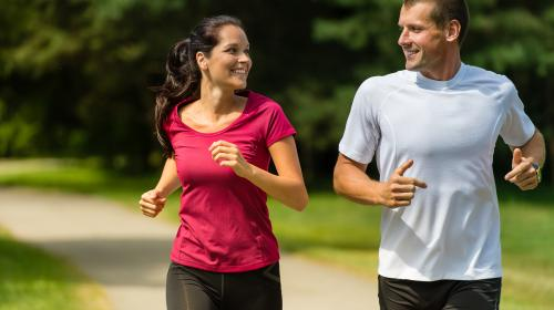 Las parejas que entrenan juntas permanecen juntas