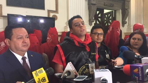 Encapuchados de la USAC piden pena de muerte