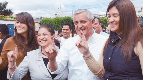 Juez embarga cuentas bancarias a hija y esposa de Otto Pérez Molina
