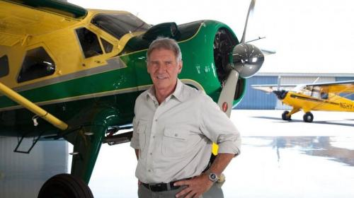 Harrison Ford estuvo a punto de estrellar su avioneta