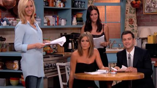 """Un breve reencuentro entre Rachel, Mónica y Phoebe de """"Friends"""""""