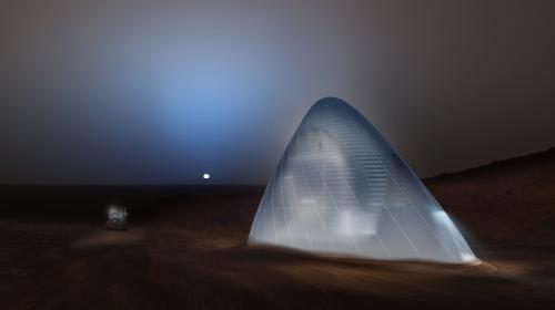 """NASA elige un """"iglú espacial"""" como prototipo de vivienda en Marte"""