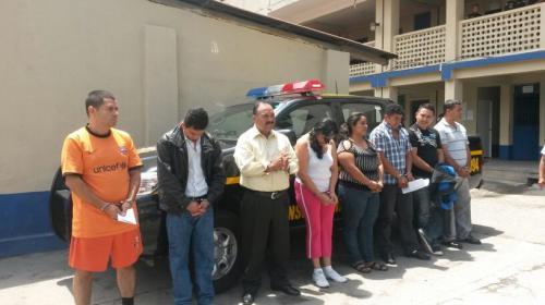 "Capturan a seis PNC vinculados a banda de secuestradores ""La Patrona"""