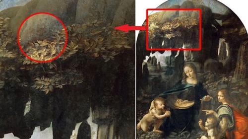 Descubren un mensaje cifrado en un cuadro de Leonardo Da Vinci