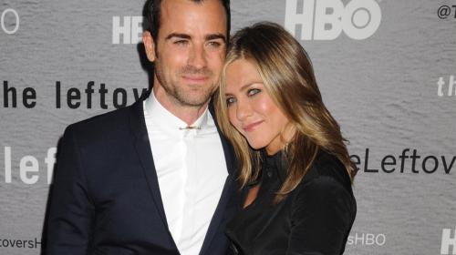 Jennifer Aniston y Justin Theroux se casan en secreto