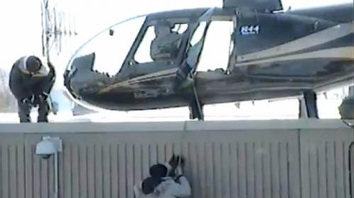Video: Dos reos se fugaron de la cárcel en helicóptero