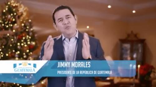 Mensaje navideño de Jimmy y otros tres anuncios que costaron Q87 mil