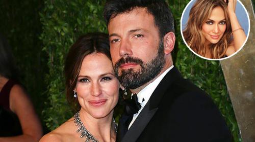 JLo habría sido el motivo del divorcio de Affleck y Garner