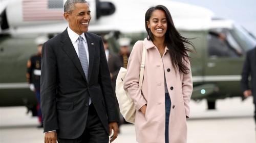 El viaje secreto de la hija menor de Barack Obama a Latinoamérica