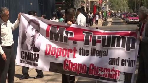 """La insólita petición del abogado de """"El Chapo"""" a Donald Trump"""