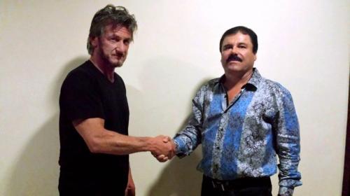 """Conoce cómo fue el encuentro entre Sean Penn y """"El Chapo"""" Guzmán"""