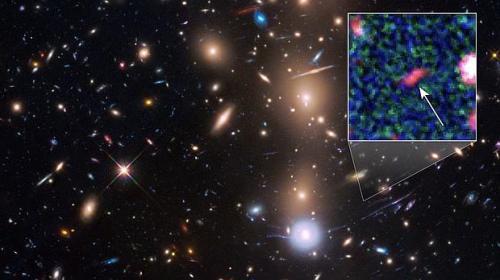 La NASA descubre la galaxia más remota conocida hasta hoy