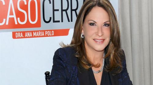"""Así luce sin maquillaje la doctora Ana María Polo de """"Caso Cerrado"""""""