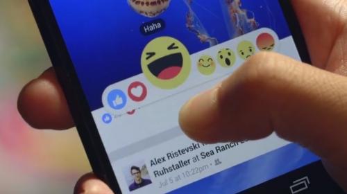 """Facebook cambia algoritmo y desplaza los """"me gusta"""" por """"reacciones"""""""