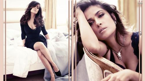 Salma Hayek es una actriz mexicana de 49 años de edad