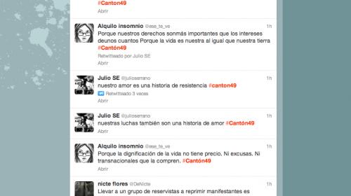 Recuerdan masacre en Totonicapán con el hashtag #Cantón49