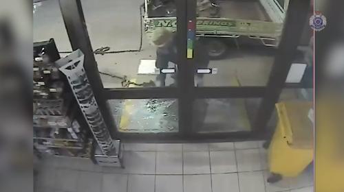 Policía viraliza video que ridiculiza a ladrón en fallido robo