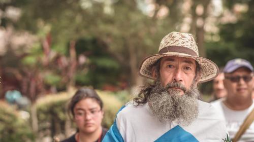 ¡Vuelve el caminante de Xela! Esta vez, pide reformas electorales