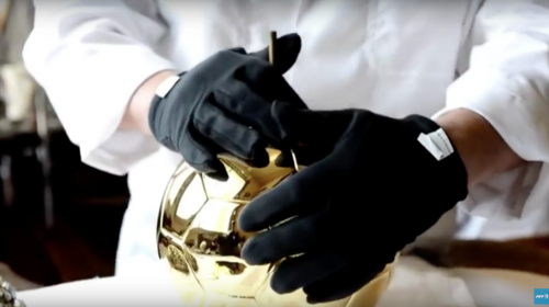 ¿Cómo se fabrica el Balón de Oro?