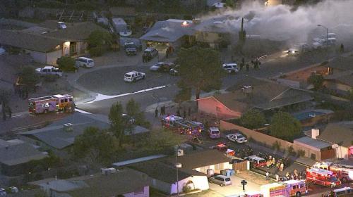 Tiroteo en medio de incendio deja 5 fallecidos en Phoenix